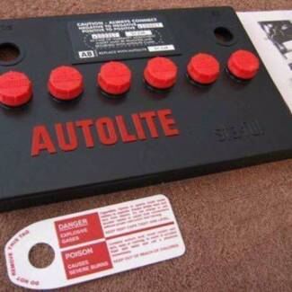 Autolite battery top cover suit******1965******1967-1968 Mustangs