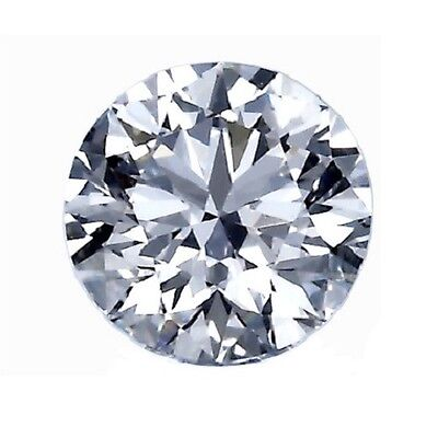 GIA Certificate 0.25ct F Color SI1 Round Brilliant Shape Excellent Cut Diamond