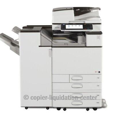 Ricoh Mpc5503 Color Copier Printer Scann 55 Ppm - Meter - Ultra Very Low. Jin