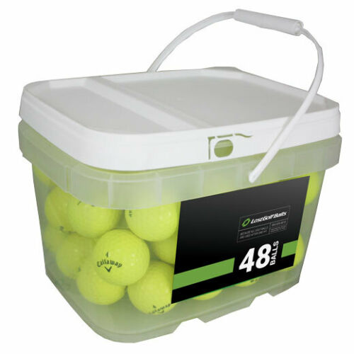 48 Callaway Chrome Soft Yellow Good Quality Used Golf Balls AAA In a Free Bucket