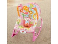 Fisher-Price Infant-to-Toddler Rocker/Baby chair
