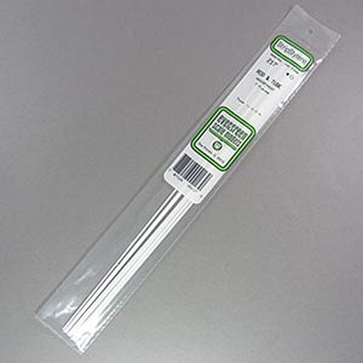 "Evergreen Styrene Rods, Tubes  Sections. All 14"" Lengths, pack sizes vary."