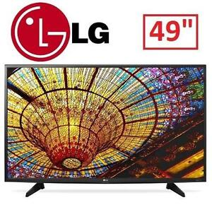 "NEW OB LG 49"" 4K LED SMART TV - 117270257 - ULTRA HD 49"" TELEVISION TV HOME THEATER"