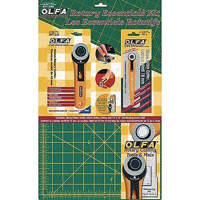 Rotary Cutter Mat Set Cutting Blade Ruler Fabric Quilting Sewing Craft Tool Kit