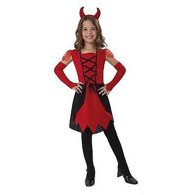 Kostüm~Teufel~USA~104-110-116~Karneval~Fasching~Mädchen~Kleid - Kleines Mädchen Teufel Kostüme