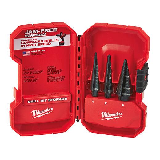 Milwaukee 48-89-9221 Step Drill Bit Set (3 PC)