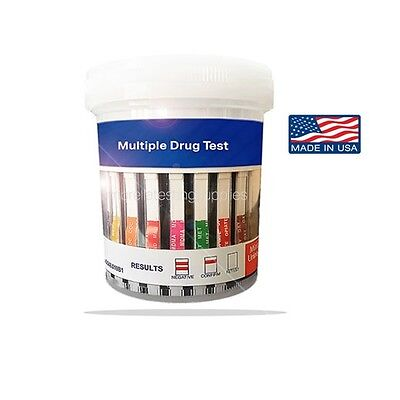 New - Best Price, 13 Panel, Urine Drug Test Cup - Clia Waived, Includes BUP