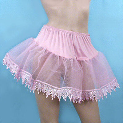 Cheap Leg Avenue Pink Teardrop Lace Petticoat Costume Halloween C139
