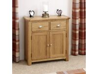 Brand New Kent Oak 2 Door Sideboard