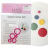 Small Circle Cutter Set - 5pc - Circles, Round - Cake Decorating Sugarcraft