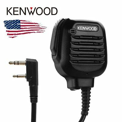 Original Kenwood Kmc-45 Heavy Duty Speaker Microphone Mic For Mobile Radio Us
