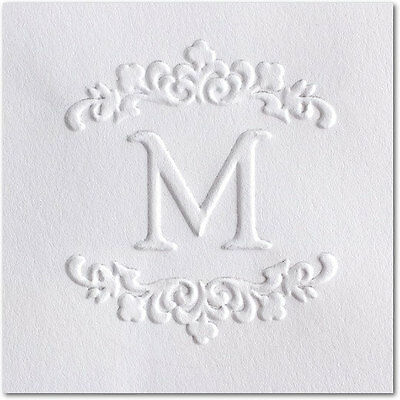 Custom Embosser Shiny Seal Hand Held Round Decorative Custom Monogram Embosser