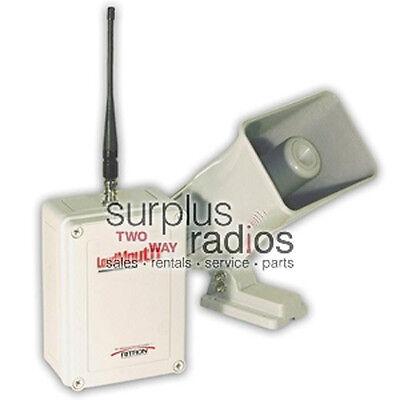 Ritron Loudmouth Wireless Pa System Works W Icom Kenwood Motorola Radios Cp200