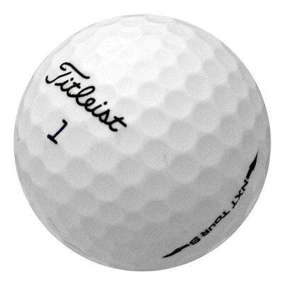 120 Titleist NXT Tour S Mint Used Golf Balls AAAAA *Free Shipping!*