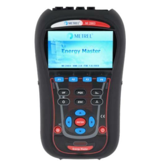 Metrel MI 2883 Energy Master Power Quality Analyzer PQA Industrial Set