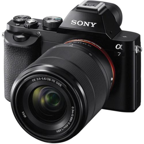 A Sony Alpha A7 Full Frame Digitale Fotocamera Con 28-70mm Obiettivo Arancione- sony - ebay.it