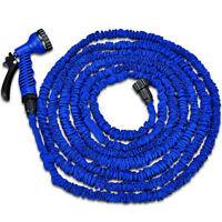 Boyau d'arrosage rétractable flexible 25 50 75 ou100' + buse VVV