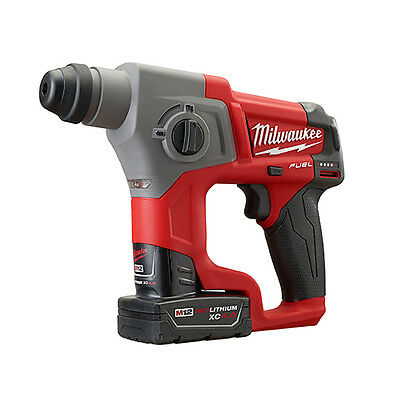 Milwaukee 2416-22xc M12 Fuel 58 Sds Plus Rotary Hammer Kit