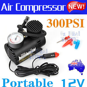 Air-Compressor-12v-Car-4x4-Bike-Tyre-Inflator-Electric-Portable-Pressure-Pump-AU