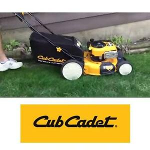 "NEW CUB CADET 21"" GAS LAWNMOWER - 124701071 - 190 cc ELECTRIC BATTERY START SELF PROPELLED GASOLINE MOWER MOWERS LAND..."