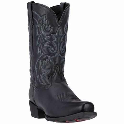 """Laredo, 68440, Bryce, 12"""", Snip, Toe, Rubber, Sole, , Distressed, Leather, Cowboy, Boots"""
