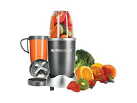 Nutribullet with Large and Small Cups, and Juicer and Milling Blade