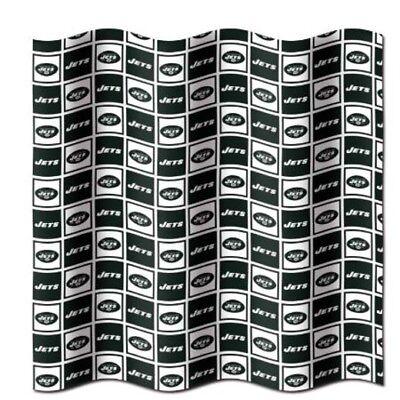 New York NY Jets NFL LOGO Shower Curtain (72x72) FREE US SHIPPING