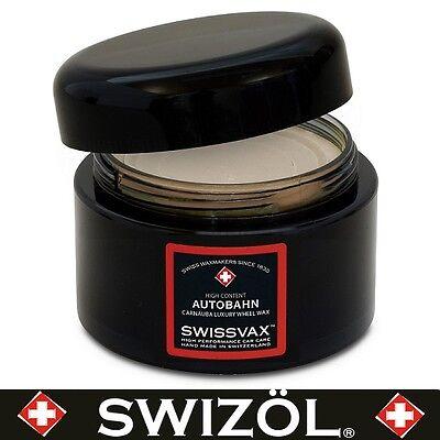 SWIZÖL SWISSVAX (85100ml) Autobahn Felgenwachs mit Antihaft-PTFE, 50 ml