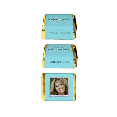 30 Sweet Sixteen 16 (all ages) Birthday Party Favor Personalized Nugget Labels