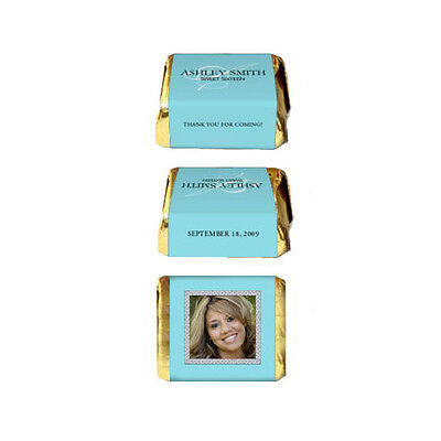 30 Sweet Sixteen 16 (all ages) Birthday Party Favor Personalized Nugget Labels - Sweet Sixteen Favors