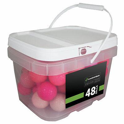 48 Premium Pink Mix Mint Used Golf Balls AAAAA *In a Free Bucket!*](Golf Balls Pink)