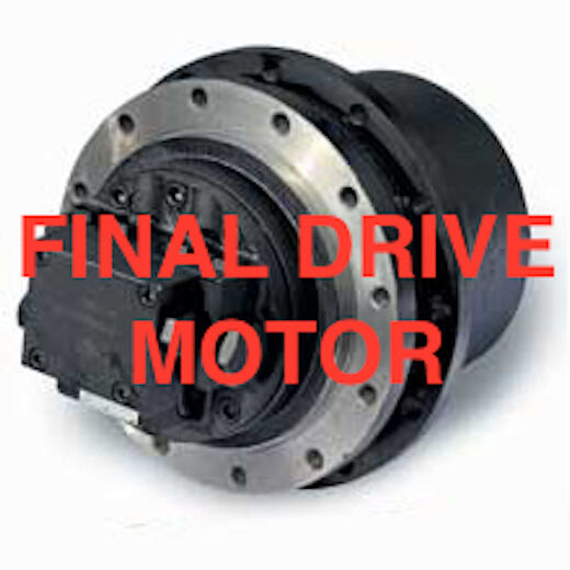 FINAL DRIVE MOTOR / BRAND NEW / SINGLE SPEED /  RC85 / 267 / 267B / 277 / 277B