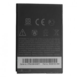 BATTERY FOR HTC BA S420 WILDFIRE LEGEND G6 BB96100 35H00140-00M 1300 mAh 3.7V