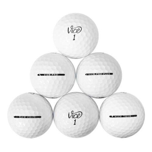 120 Vice Mix Mint Used Golf Balls AAAAA *Free Shipping!*