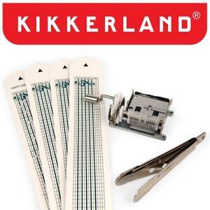 Kikkerland Mechanical Music Box Set 1200 DIY Kit Customizable Songs