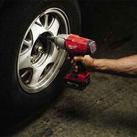 "Milwaukee M18 1/2"" High-Torque Impact Wrench for Auto Mechanics"