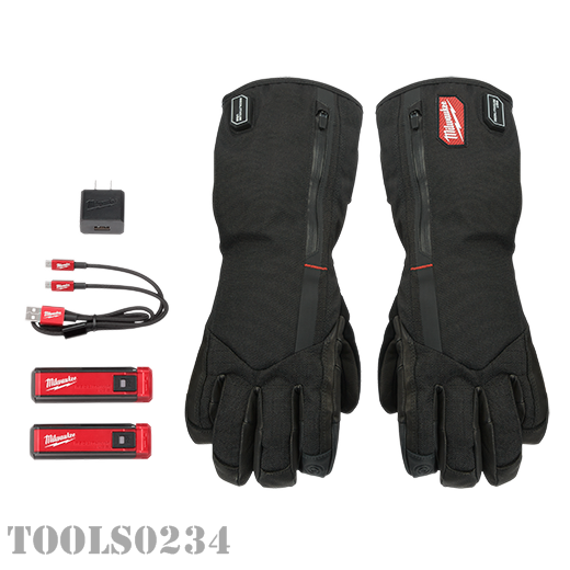 Milwaukee Tools 561-21M USB Rechargeable Heated Gloves - Med