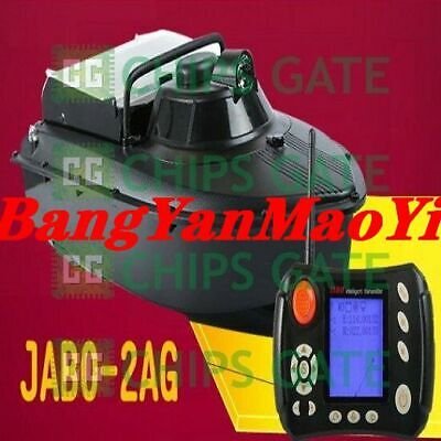 FedEx /DHL Wireless Remote Control JABO-2AG 10A GPS Bait Boat Fishing Tackle Fis