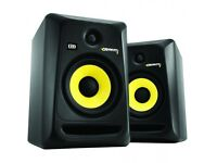 KRK Rokit 6 GP3 PERFECT CONDITION & COMES WITH SAMSON MONITOR STANDS