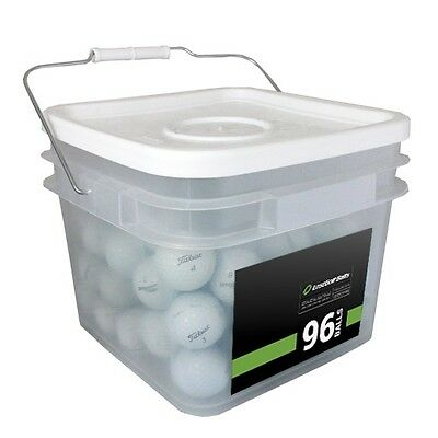96 Titleist Pro V1X 2016 Mint Used Golf Balls AAAAA *In a Free Bucket!*
