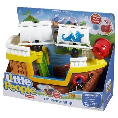Little People Lil' Pirate Ship Fisher Price Discontinued
