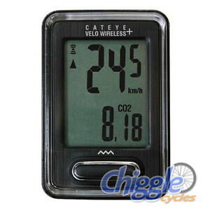 Cateye-Velo-Wireless-9-Function-Bike-Bicycle-Speedo-Computer-Black-EXPRESS