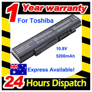 Laptop Battery for Toshiba Qosmio F60 F750 F60-00Y PA3757U-1BRS PABAS213 5200mAh