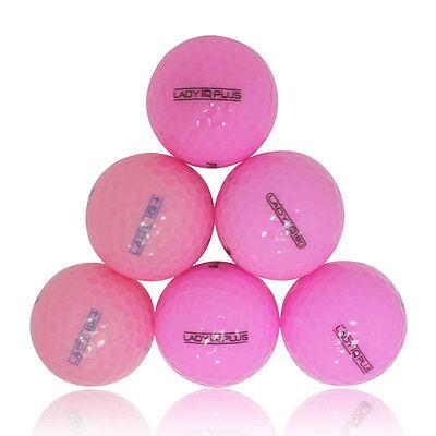 48 Premium Pink Mint Used Golf Balls AAAAA