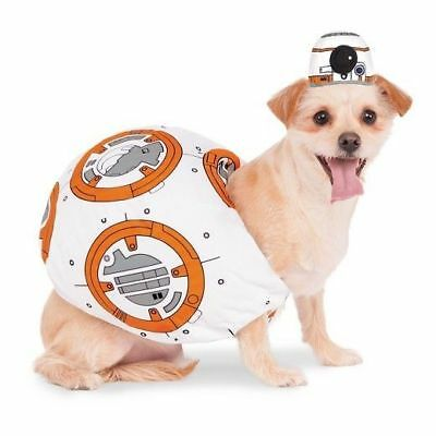 Star Wars Hunde Fasching Halloween Karneval Kostüm Roboter R2-D2 Größe Small ()