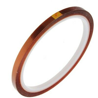 New 5mm X 33m 100ft Kapton Tape Bga High Temperature Heat Resistant Polyimide