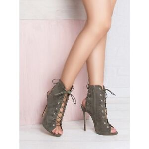 LACE UP HEELS - from SIMMI SHOES