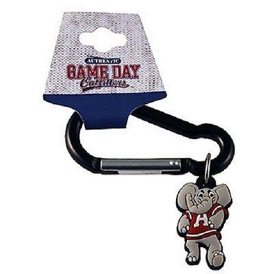 (Alabama Crimson Tide Carabiner Keychain [NEW] Metal Key Chain Logo Caribiner)