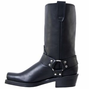 $70 OFF! NEW! MENS DINGO MOTORCYCLE HARNESS BOOTS SIZE 9