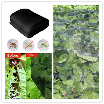Vegetable Garden Netting (Garden Mesh Netting Plant Vegetable for Mosquito Bug Insect Bird Black)